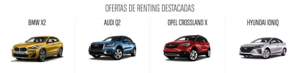 principales empresas de renting de coches