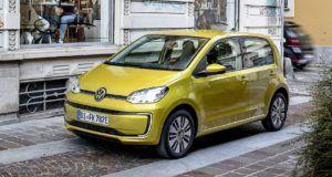 Renting volkswagen e-up