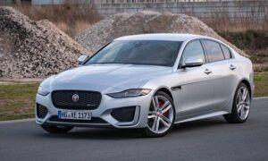Renting jaguar xe