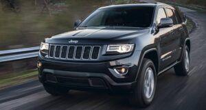 Renting jeep cherokee