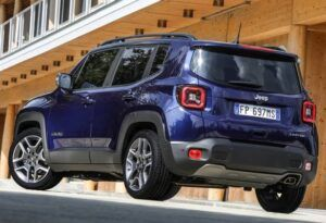 Renting jeep renegade