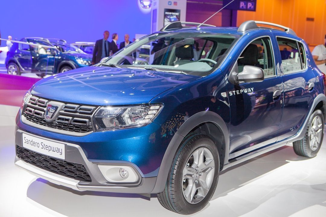 Dacia Sandero en el Salón del Automóvil de París