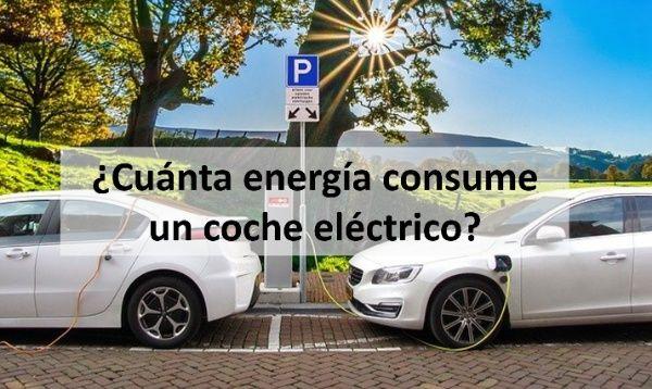 cuanta energia consume un coche electrico