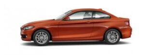 renting bmw serie 2 coupe