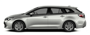 renting toyota corolla touring sports