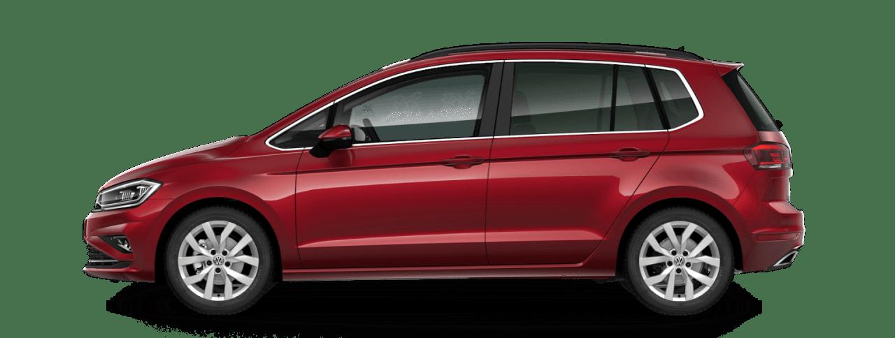 renting volkswagen golf sportsvan