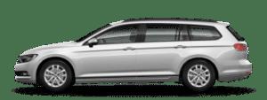 renting volkswagen passat variant