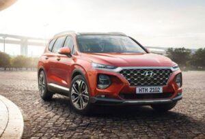 Renting Hyundai Sante Fe