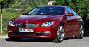 Renting BMW Serie 6