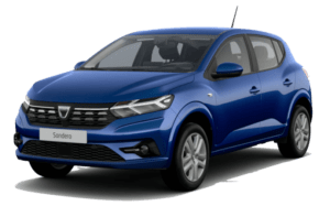 Renting Dacia Sandero Stepway