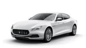 Renting Maserati Quattroporte