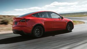 Renting Tesla Model Y