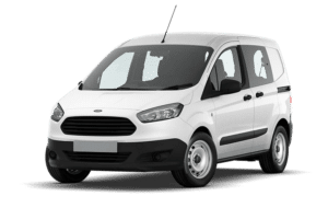 Renting ford Transit Courier